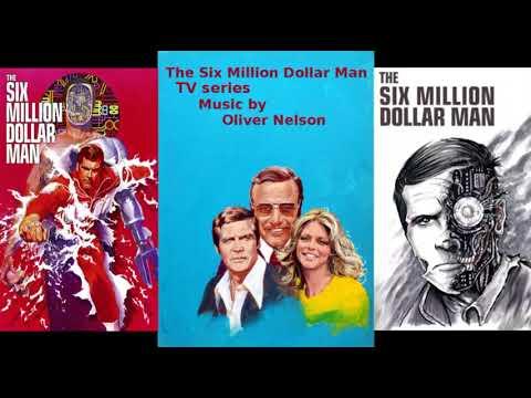 The Six Million Dollar Man TV Series Music ~ Straight On 'Til Morning