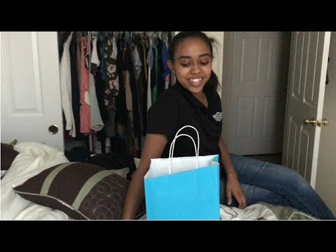 Giving my sister expensive gifts everyday for a week