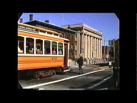 Lowell,MA Trolley #4131 Brill replica car 10/05/1989