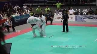 All American Open 2014, Final Oleksandr Ieromenko (Ukraine, shiro) - Zahari Damyanov (Bulgaria)