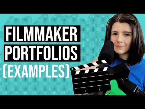 Filmmaker Portfolio Examples (showreels & websites)