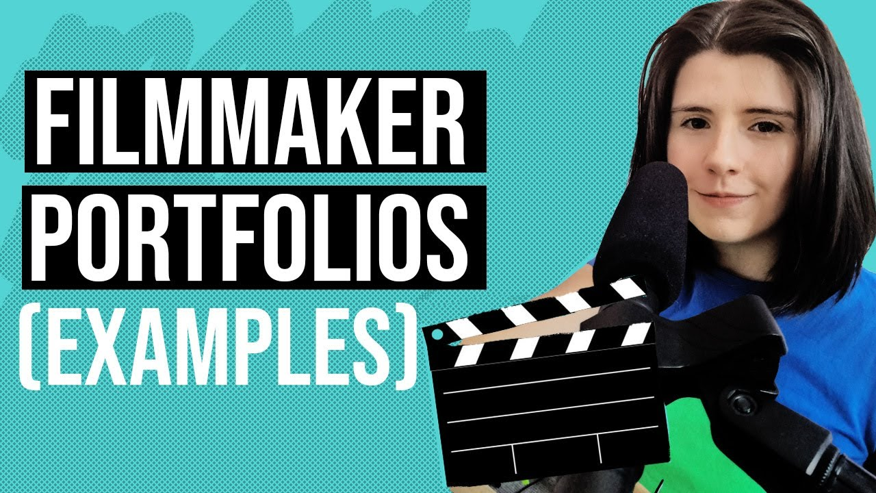 Filmmaker Portfolio examples - Tips on making a killer
