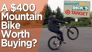 A Department Store Mountain Bike Worth Buying? // Only $400!
