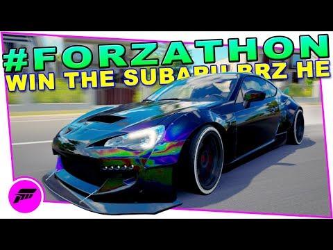 #FORZATHON An Exceptional Display (FORZA HORIZON 3) Win The Subaru BRZ Horizon Edition
