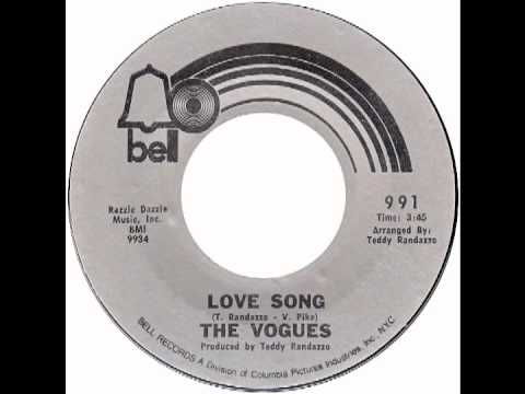 "Vogues – ""Love Song"" (Bell) 1971"