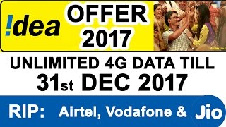 IDEA Launches 2017 Bonanza Offer for Customers who switch to IDEA 4G - #Jio Effect(, 2017-01-15T13:07:19.000Z)