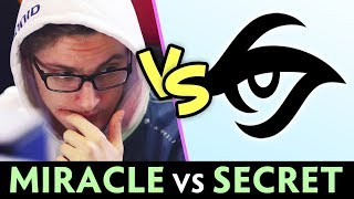 MIRACLE vs Team Secret — Cancer Lancer vs Matu, Puppey, Zai party