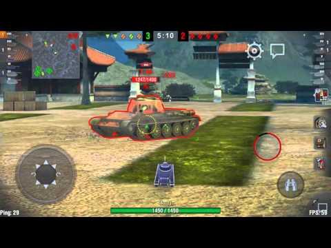 World of tanks (Wot) blits: T-44 STA-1 platoon