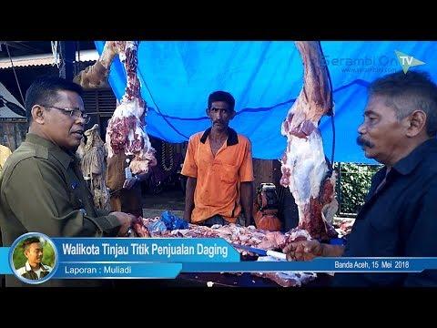 Peringati Meugang, Walikota Banda Aceh Tinjau Setiap Titik Penjualan