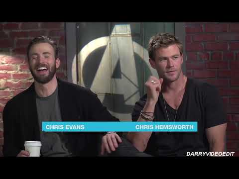 chris evans laughing like a dork for a good 8 minutes