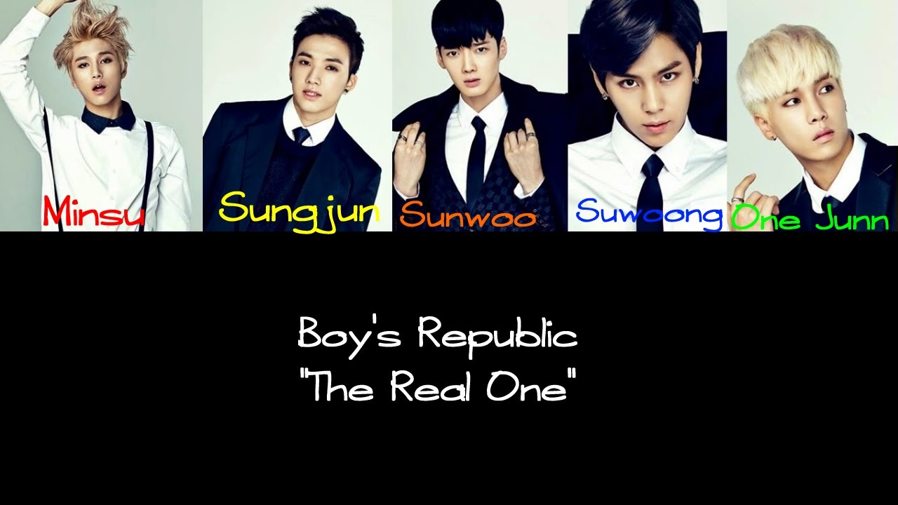 Dress up lyrics boy republic - Boys Republic The Real One Color Coded Han Rom Eng