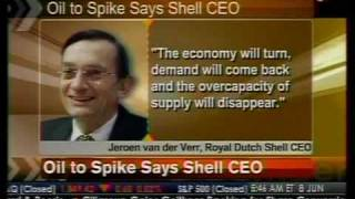Oil To Spike Says Shell CEO - Bloomberg