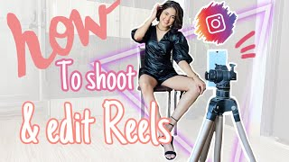 How i Film My Reels for Instagram + Smooth Transitions Editing