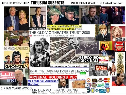 Lynn De Rothschild 2 Elton John, Kev Spacey, Harris on Arsenal Cleopatra RBS Pr St Andy R & A BP Sir