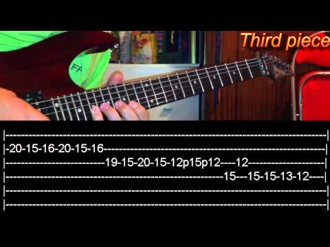 Victim Guitar Solo Lesson - Avenged Sevenfold(with tabs)