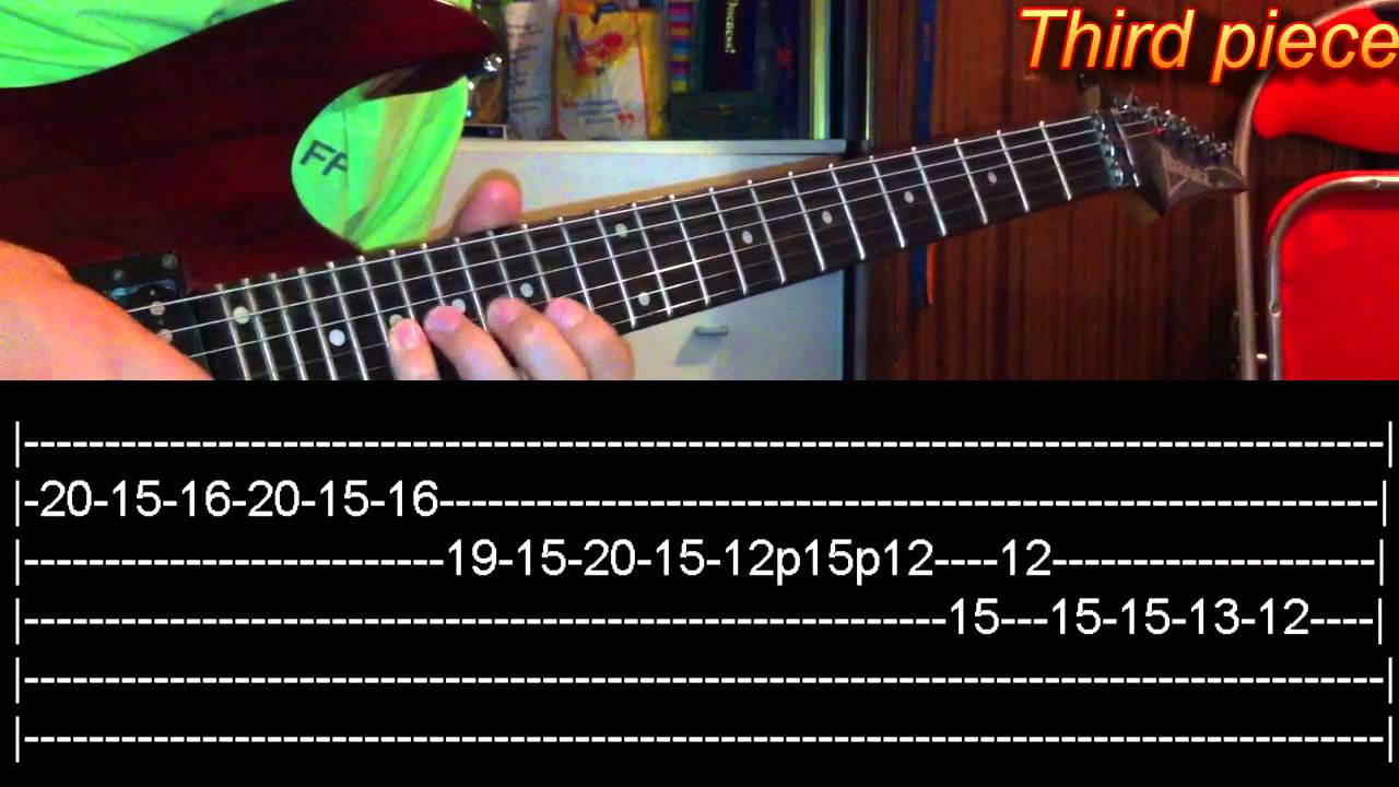 Victim Guitar Solo Lesson Avenged Sevenfoldwith Tabs Youtube