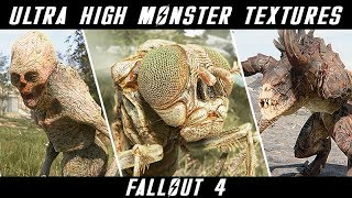 4K MUST HAVE CREATURE AND ANIMAL TEXTURES | Fallout 4 Ultra ENB Graphics