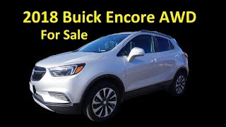 2018 BUCK ENCORE ~ FOR SALE ~ AWD COMPACT CROSSOVER ~ CUV SUV USED