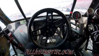 Hooked Monster Truck Helmet Cam and On Board Bristol 2015