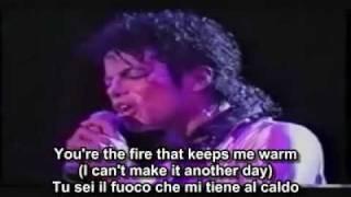 Michael Jackson (I can't make it) Another Day- ft. Lenny Kravitz with lyrics & sub ita.avi