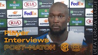 INTER 2-1 LEVERKUSEN | LUKAKU + GODIN + YOUNG EXCLUSIVE INTERVIEWS [SUB ENG+ITA]