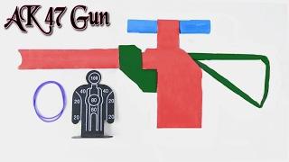 Kids Surprising AK47 Gun -Origami Paper Gun That Shoots -Learn How To Make Paper Shooting Gun Easily