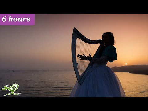 Relaxing Harp Music: Sleep, Meditation, Spa, Study | Soothing Instrumental Background Music ★63
