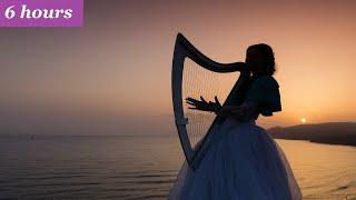 Relaxing Harp Music: Sleep, Meditation, Spa, Study | Soothing Instrumental Background Music ★63