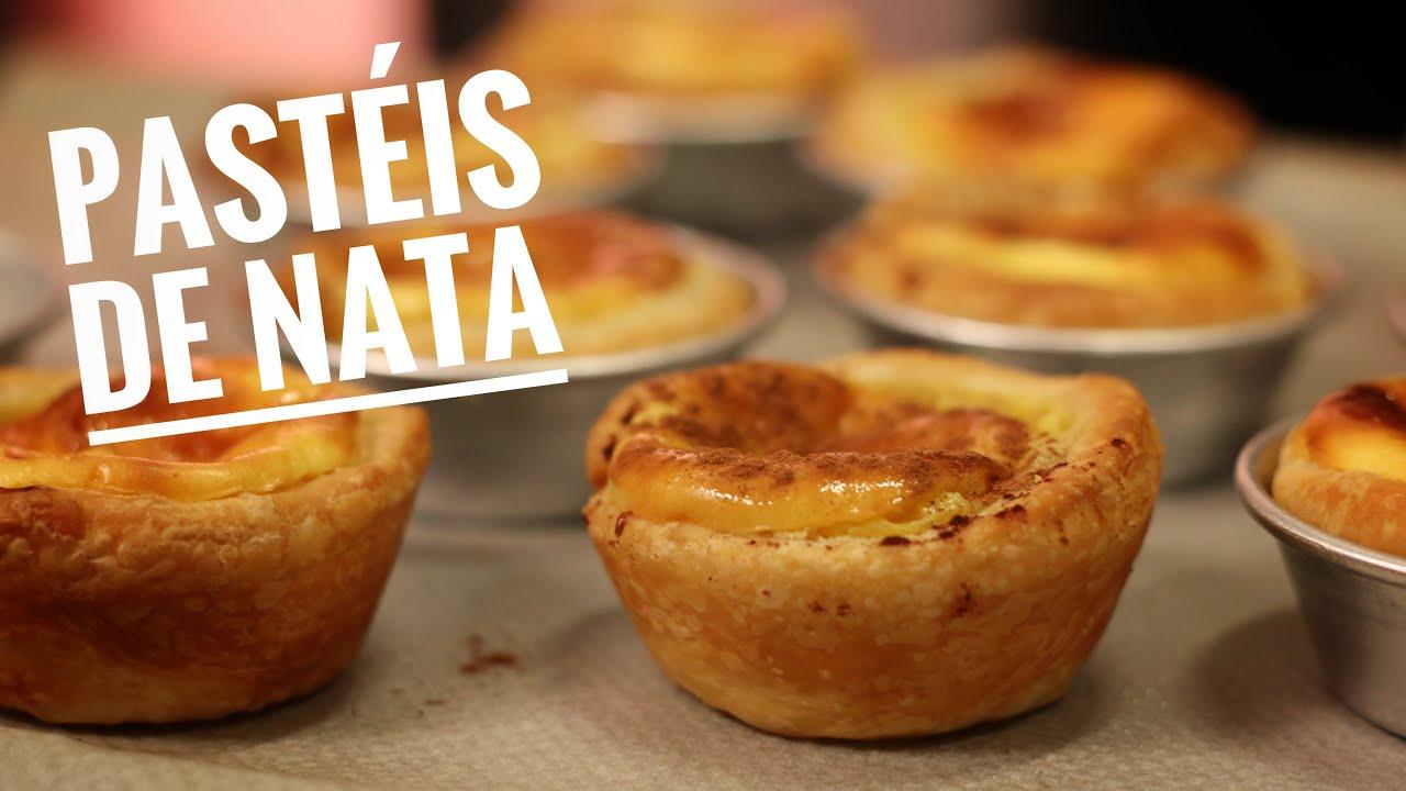 PASTEIS de NATA / BELEM, pâtisserie portugaise à tomber !