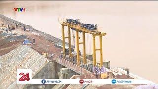 Sẽ nổ mìn phá đập thủy điện xả lũ nếu nước tiếp tục dâng cao | VTV24