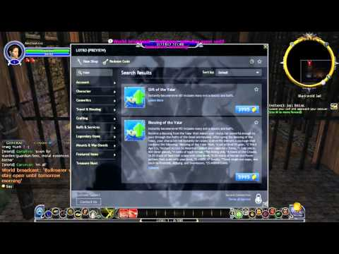 Level to 95 Instantly in LOTRO - Blessing of the Valar Item - YouTube