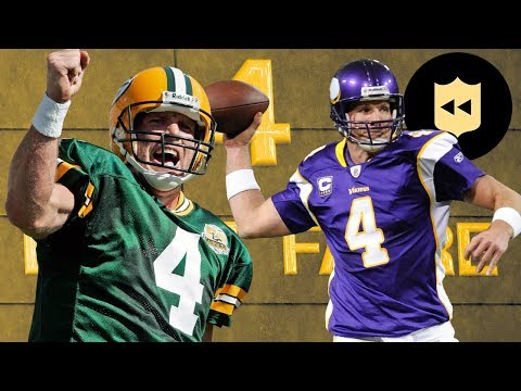 Packers - #TBT: Every Brett Favre Playoff Touchdown