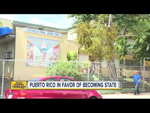 Puerto Rico votes in favor of becoming 51st state