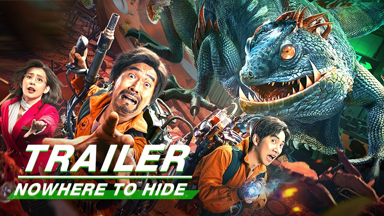 Official Trailer: Nowhere to hide   变种狂蜥   iQiyi