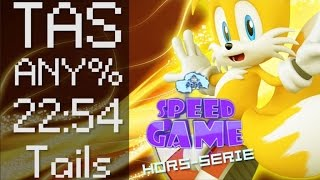 Speed Game Hors-série: TAS Sonic Adventure DX par THC98 en 22:54 avec Tails