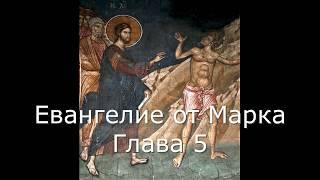 Евангелие от Марка с иллюстрациями. Глава 5. (читает священник Валерий Сосковец)