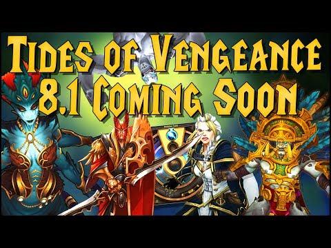 2 New raids!, Zandalari and Kul Tiran Requirements, Heritage Armor, and More Coming in 8.1!