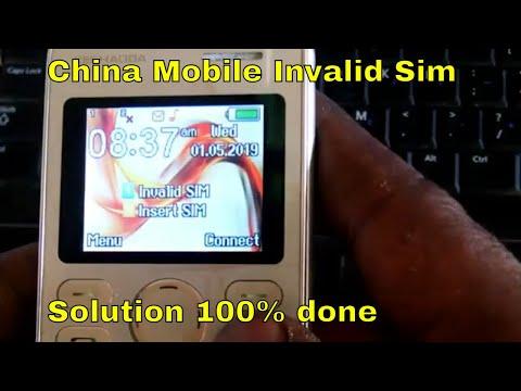 china mobile invalid sim solution kechaoda original imei rebuild done 100%