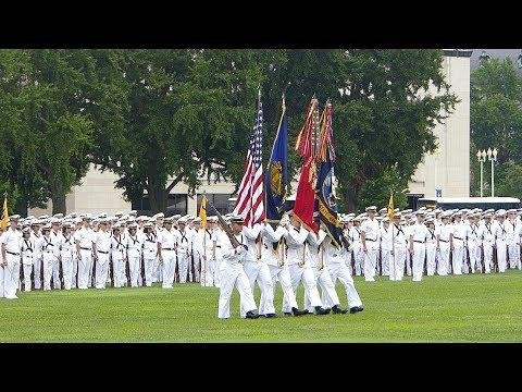 US Naval Academy (USNA) Class 2021 Plebe 2017 Formal Parade