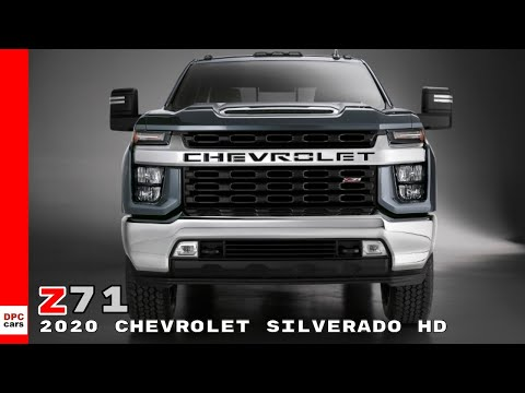 2020 Chevrolet Silverado HD Z71 Truck