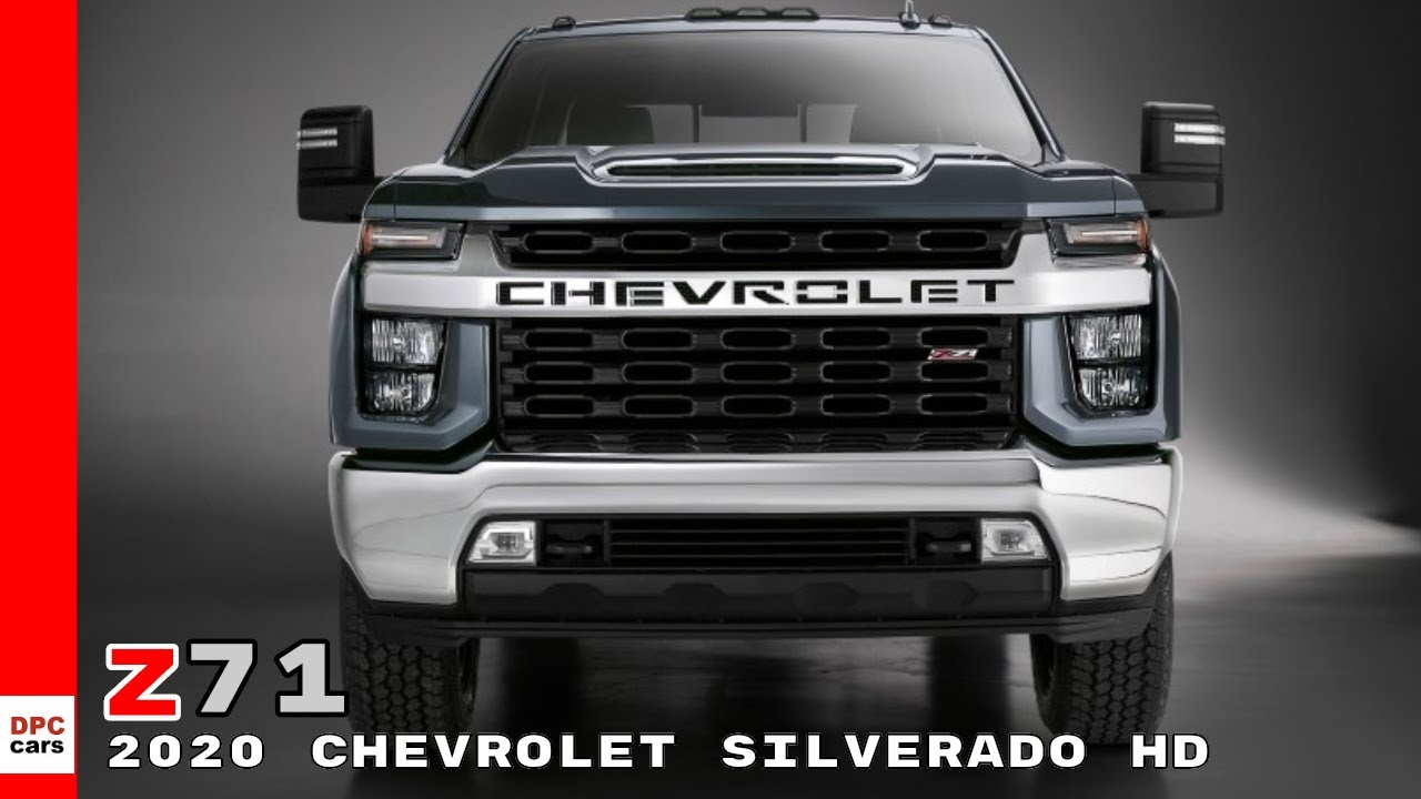 2020 Chevrolet Silverado HD Z71 Truck - YouTube