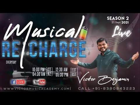 Download Hindi Worship    Christian Songs   Prayer   Musical Recharge with Dr Victor Benjamin    18 oct 2021