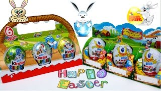 Surprise Eggs Kinder Surprise New and Old Easter Holiday Edition