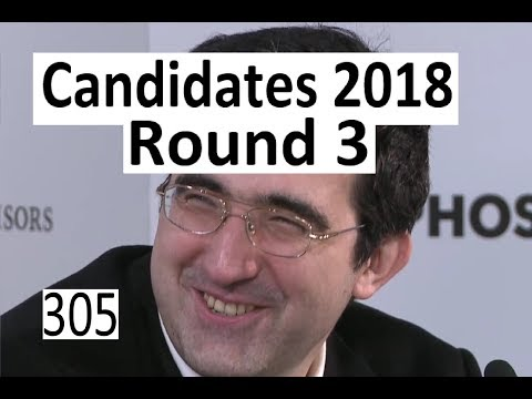 Candidates 2018: Round 3   \'A killer on move 7!\'