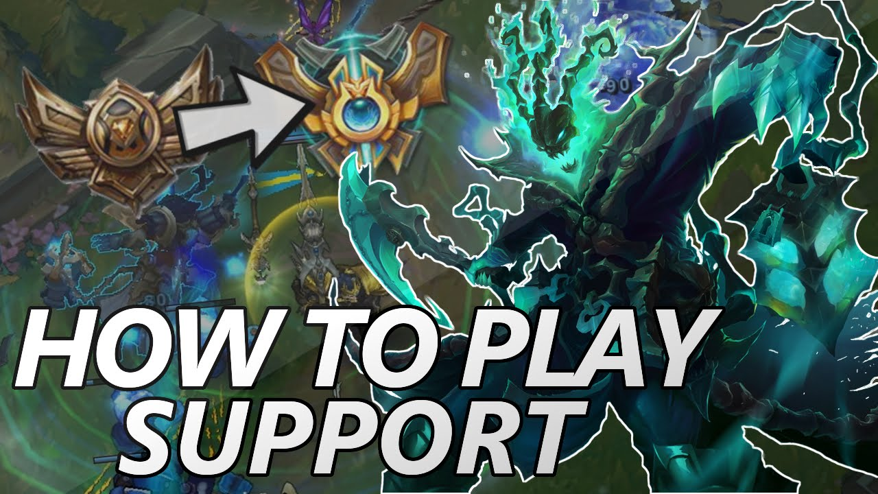 League Of Legends By Sangpendosa On: How To Play Support