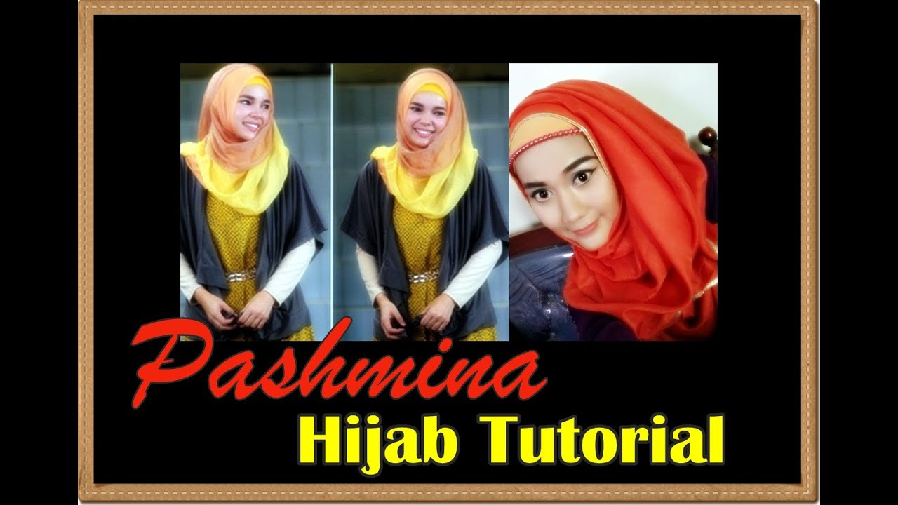 Tutorial Hijab Pashmina Inspired By Hana CHSI Dewi Sandra Part 48