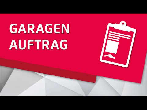 zapf garagen ablauf eines garagenauftrages f r eine fertiggarage youtube. Black Bedroom Furniture Sets. Home Design Ideas