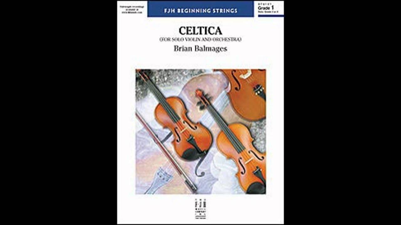 Celtica By Brian Balmages (Advanced Solo) (Audio)