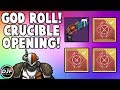 Destiny: Crucible Bounty Opening! God Roll Palindrome (Age of Triumph)