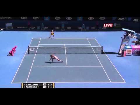 [HL] Serena Williams vs. Victoria Azarenka 2010 Australian Open [QF]
